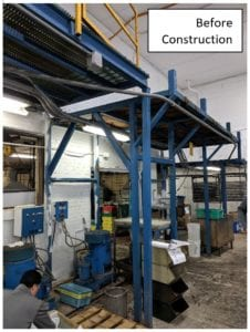 Advanced Plating Equipment Platform Before