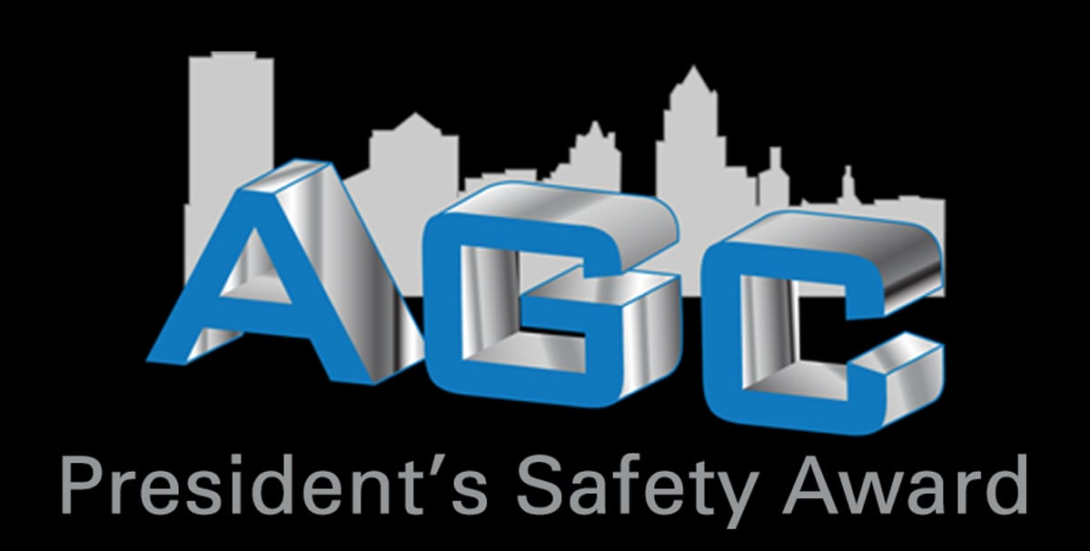 Associated General Contractor's Safety Award