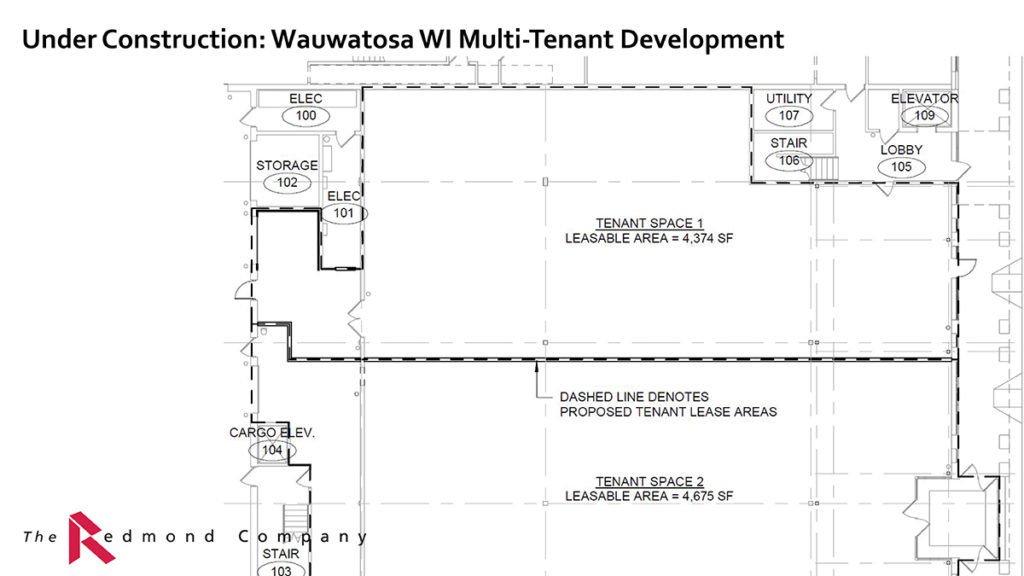 Wauwatosa WI Multi Tenant Retail Development