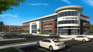 Evansville Teachers Federal Credit Union exterior rendering