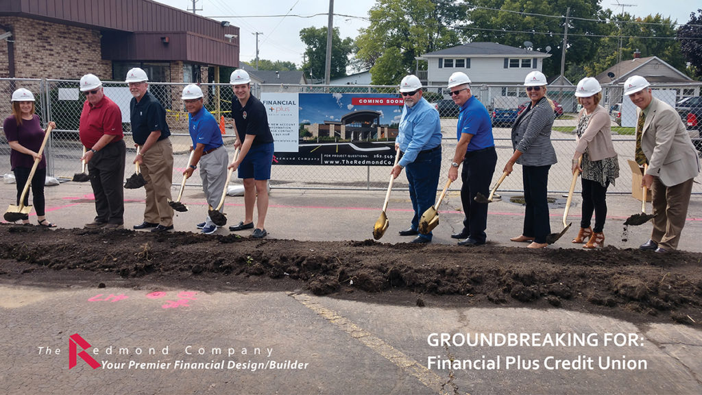 Financial Plus Credit Union groundbreaking