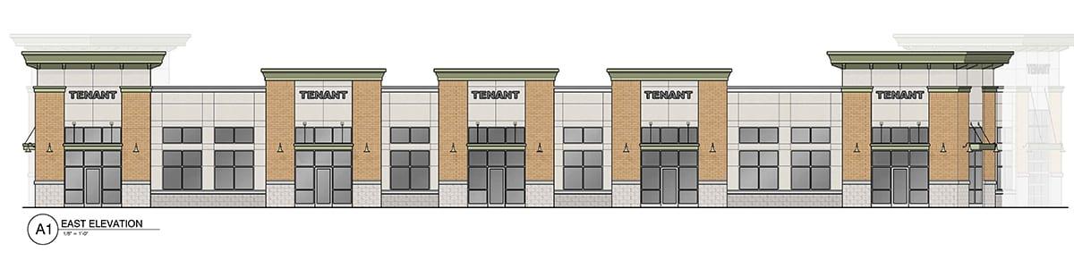 Pranke Retail Johnson Creek rendering