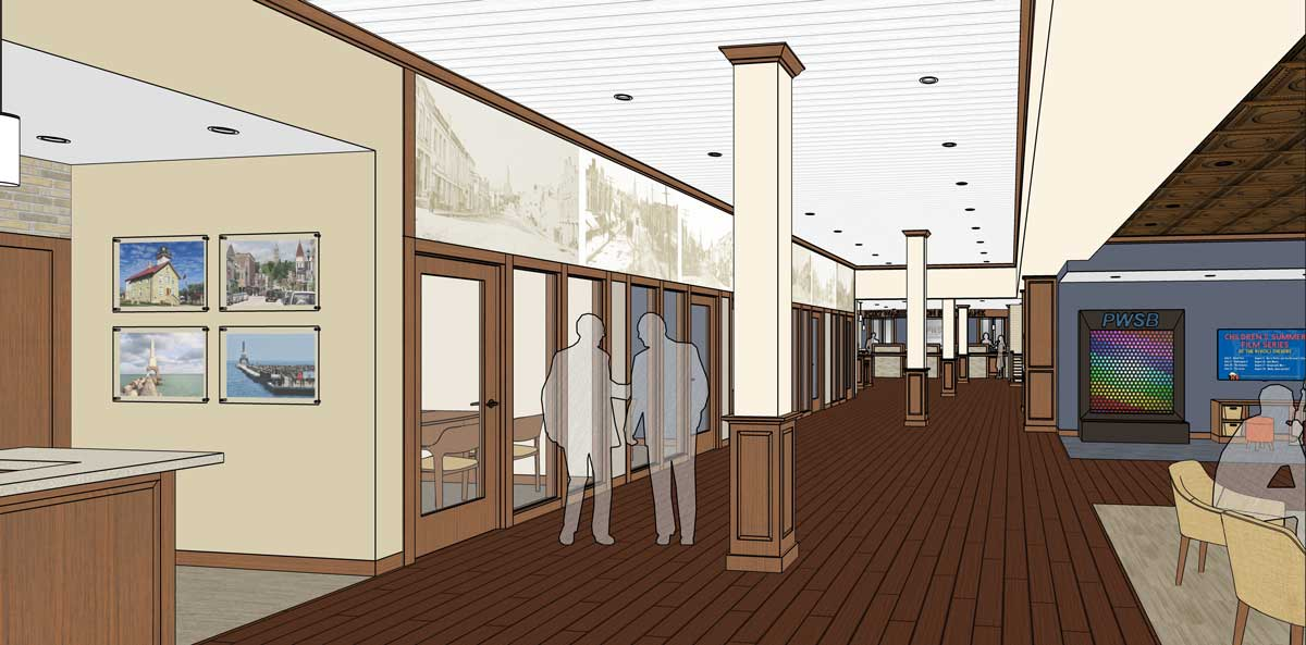 interior bank rendering